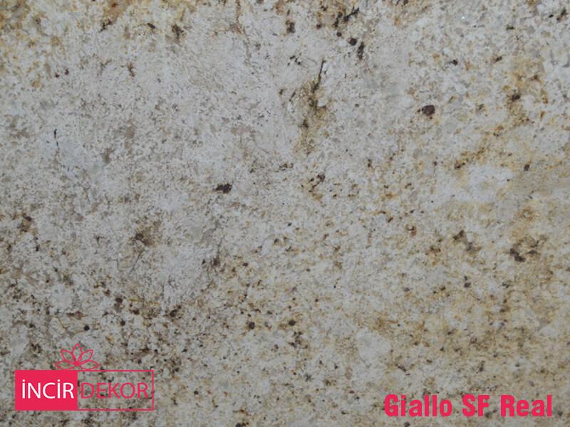 Granit Tezgah Renkleri Giallo SF Real