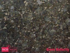 Granit Tezgah Renkleri Green Butterfly