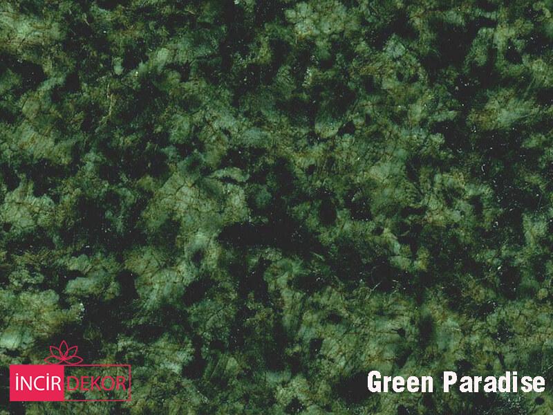 Granit Tezgah Renkleri Green Paradise