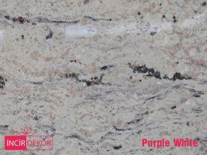 Granit Tezgah Renkleri Purple White