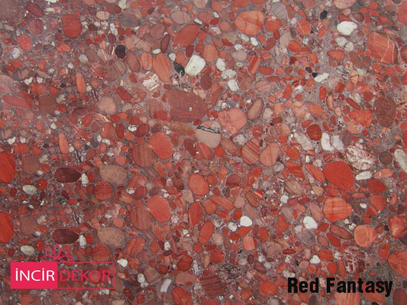 Granit Tezgah Renkleri Red Fantasy