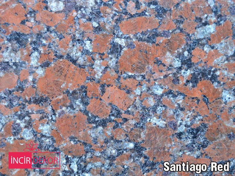 Granit Tezgah Renkleri Santiago Red