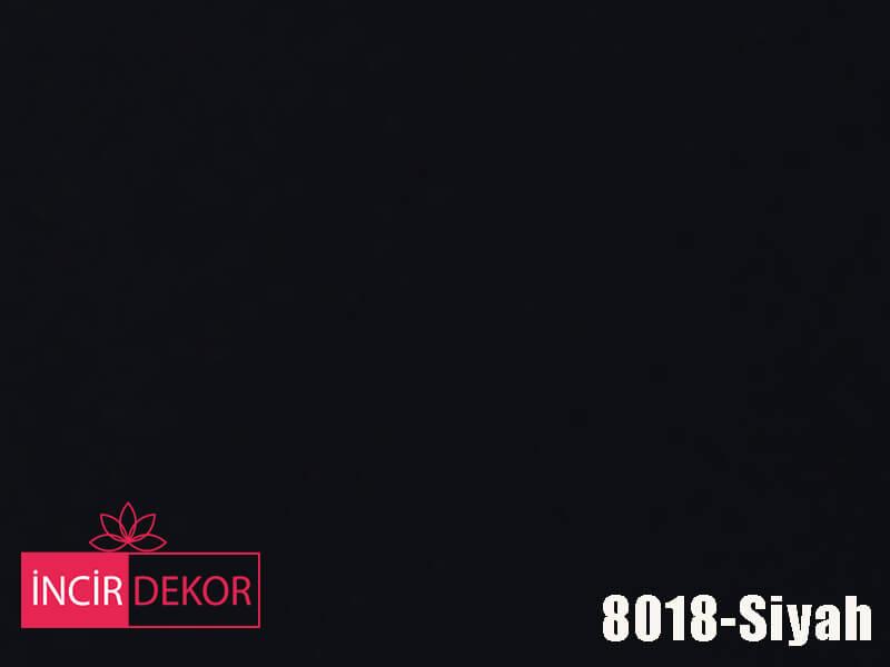 Akrilik Mutfak Dolabı Rengi - AGT 8018 Siyah