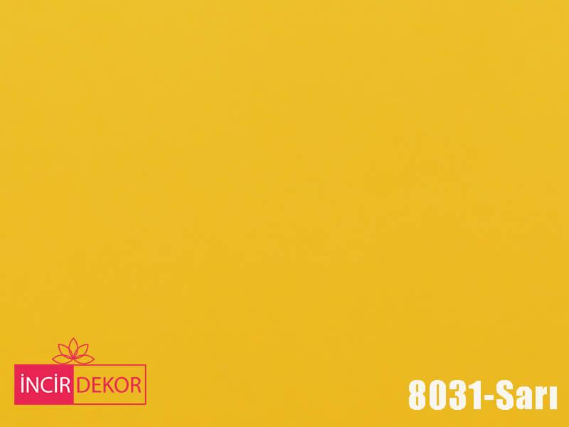 Akrilik Mutfak Dolabı Rengi - AGT 8031 Sarı