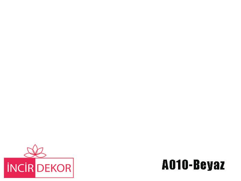 Akrilik Mutfak Dolabı Rengi - Gizir Standart A010 Beyaz