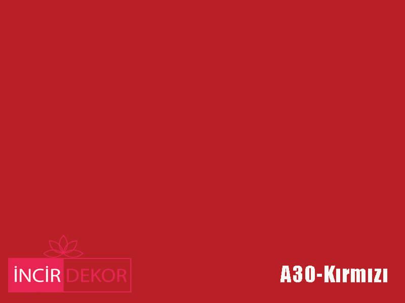 Akrilik Mutfak Dolabı Rengi - Gizir Standart A030 Kırmızı