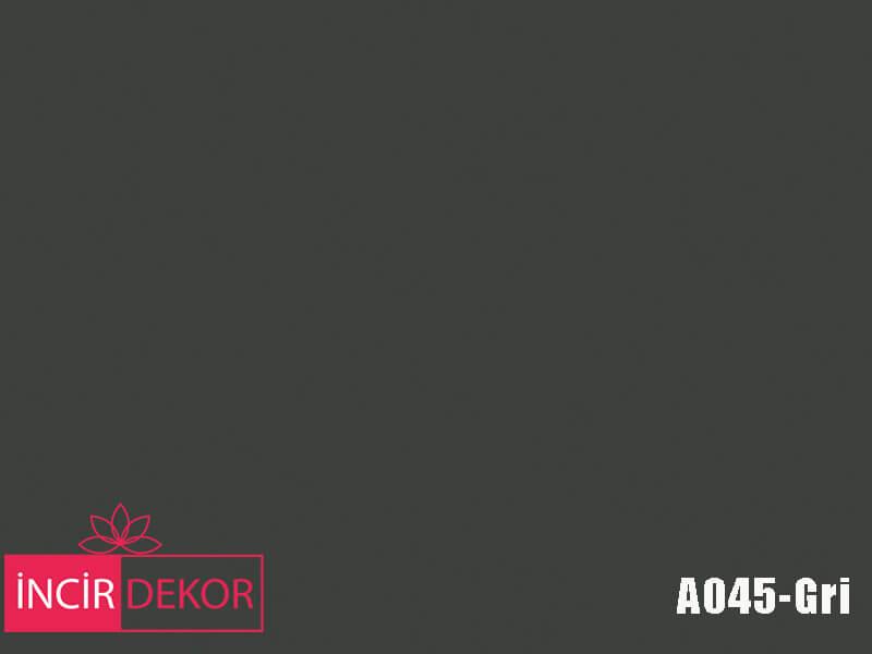 Akrilik Mutfak Dolabı Rengi - Gizir Standart A045 Gri