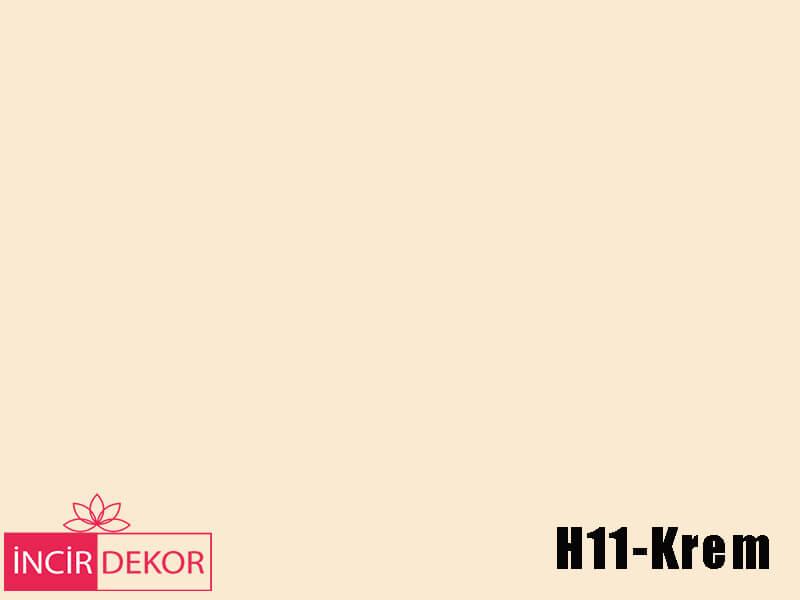Akrilik Mutfak Dolabı Rengi - Işık Çizilmez H11 Krem