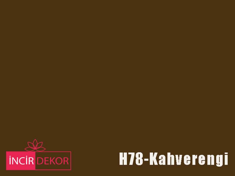 Akrilik Mutfak Dolabı Rengi - Işık Çizilmez H78 Kahverengi