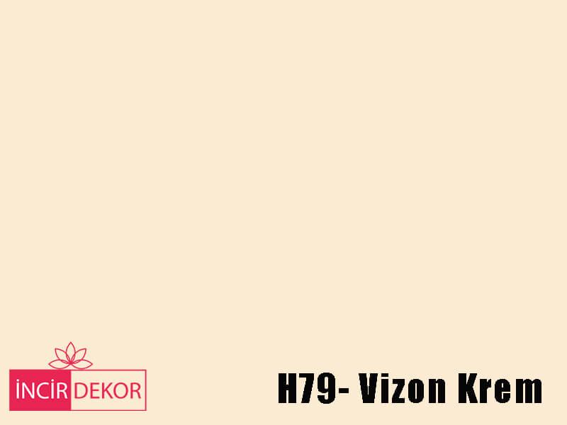 Akrilik Mutfak Dolabı Rengi - Işık Çizilmez H79 Vizon Krem