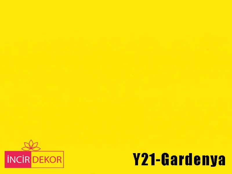 Akrilik Mutfak Dolabı Rengi - Işık Çizilmez Y21 Gardenya