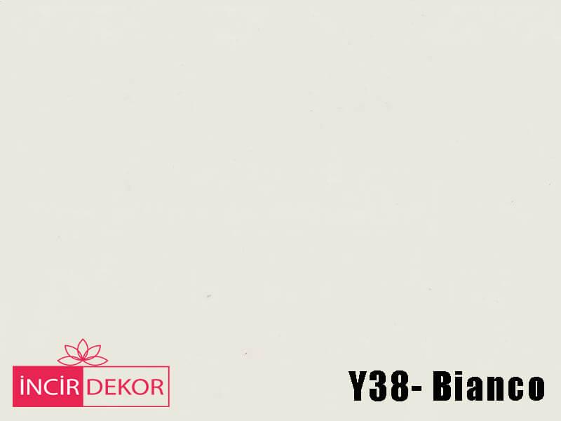 Akrilik Mutfak Dolabı Rengi - Işık Çizilmez Y38 Bianco