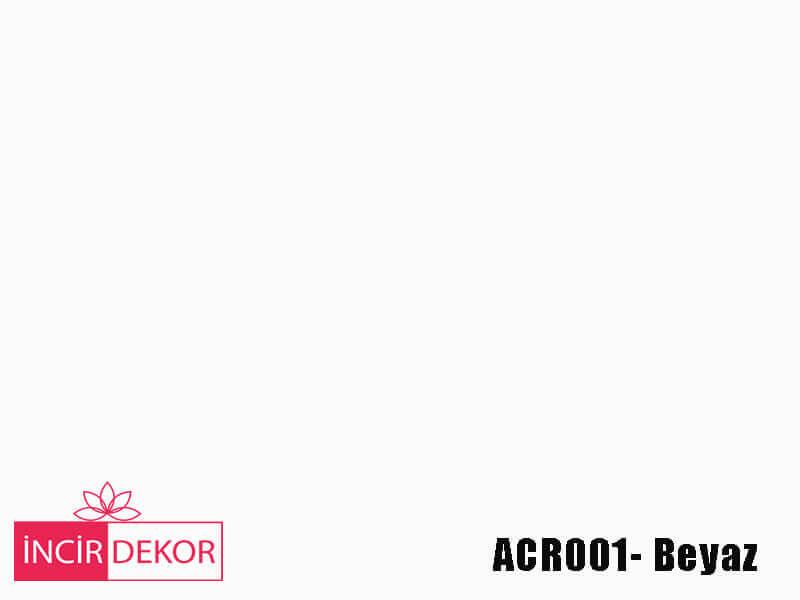 Akrilik Mutfak Dolabı Rengi - Kastamonu Entegre ACR001 Beyaz