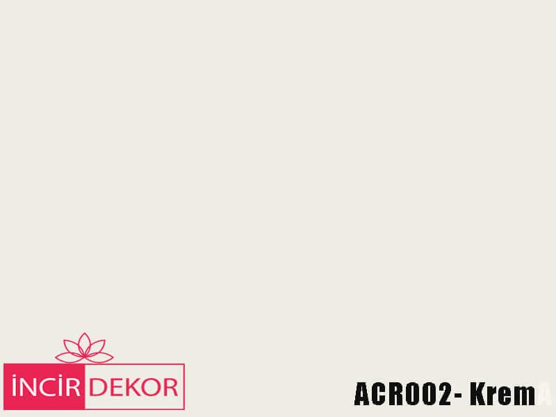 Akrilik Mutfak Dolabı Rengi - Kastamonu Entegre ACR002 Krem