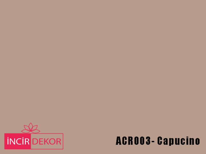 Akrilik Mutfak Dolabı Rengi - Kastamonu Entegre ACR003 Capucino