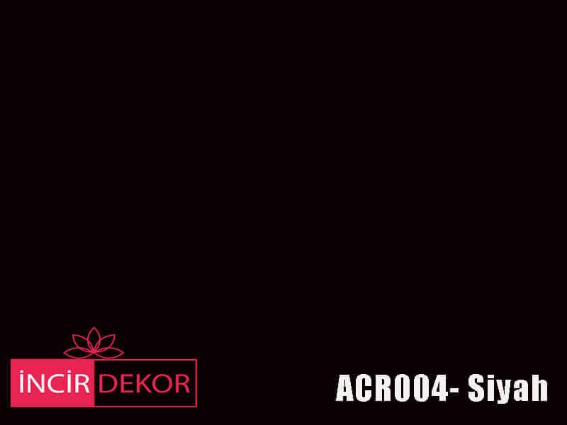Akrilik Mutfak Dolabı Rengi - Kastamonu Entegre ACR004 Siyah