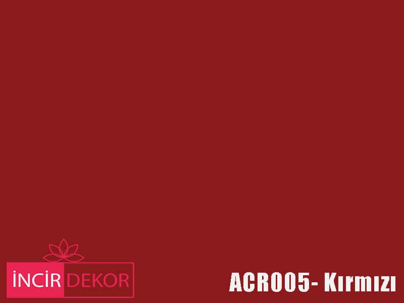 Akrilik Mutfak Dolabı Rengi - Kastamonu Entegre ACR005 Kırmızı