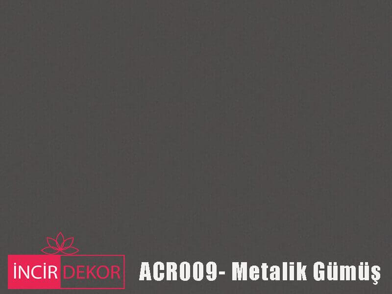 Akrilik Mutfak Dolabı Rengi - Kastamonu Entegre ACR009 Metalik Gümüş