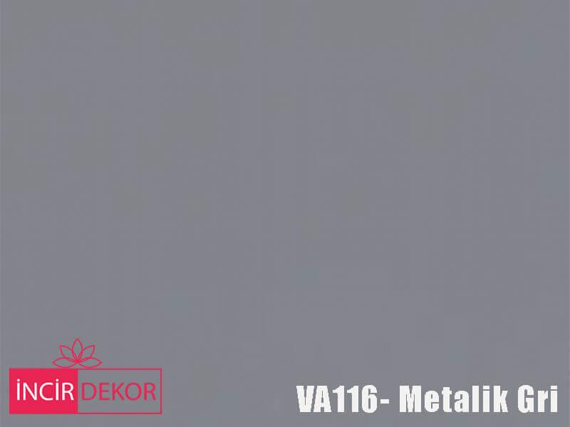 Akrilik Mutfak Dolabı Rengi - Venni VA116 Metalik Gri