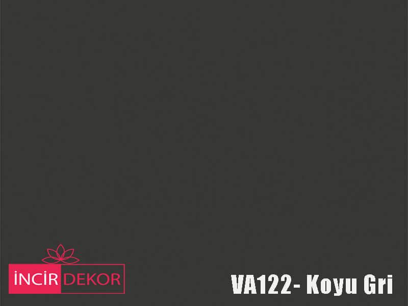 Akrilik Mutfak Dolabı Rengi - Venni VA122 Koyu Gri