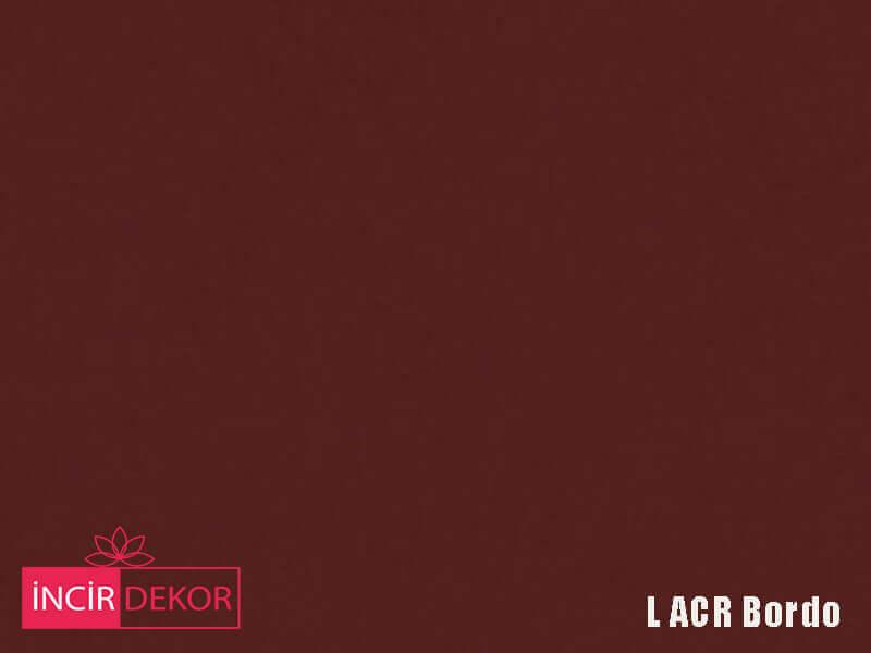 Akrilik Mutfak Dolabı Rengi - Yıldız Entegre L Acr Bordo