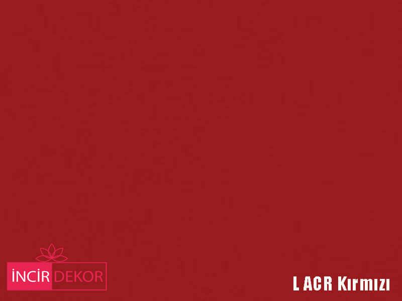 Akrilik Mutfak Dolabı Rengi - Yıldız Entegre L Acr Kırmızı