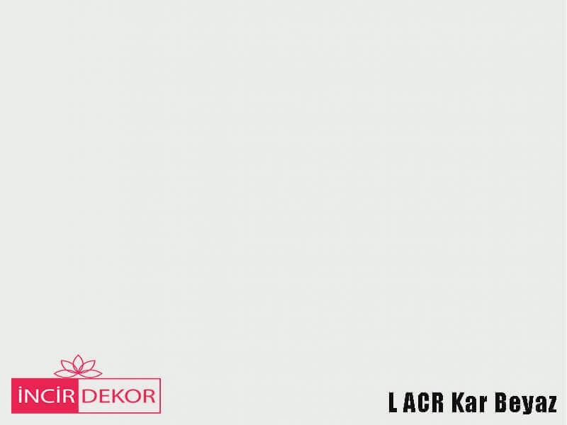 Akrilik Mutfak Dolabı Rengi - Yıldız Entegre L Acr Kar Beyaz