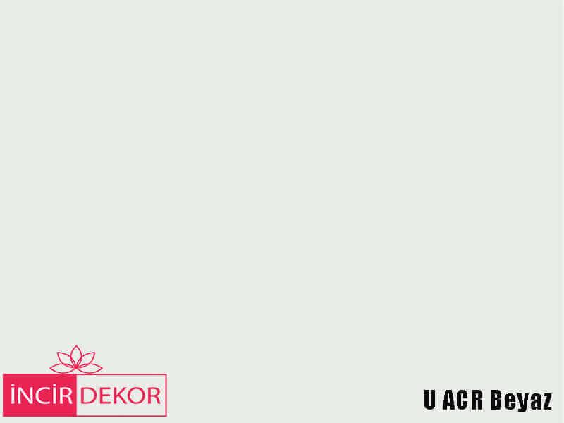 Akrilik Mutfak Dolabı Rengi - Yıldız Entegre Ultra U ACR Beyaz