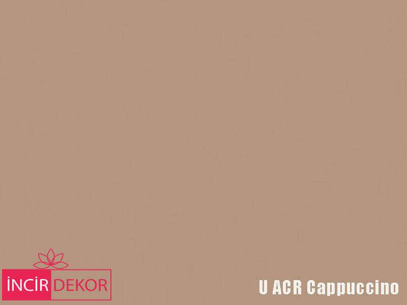 Akrilik Mutfak Dolabı Rengi - Yıldız Entegre Ultra U ACR Cappuccino