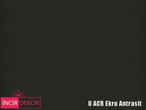 Akrilik Mutfak Dolabı Rengi - Yıldız Entegre Ultra U ACR Ekru Antrasit