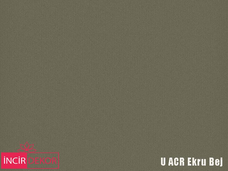 Akrilik Mutfak Dolabı Rengi - Yıldız Entegre Ultra U ACR Ekru Bej