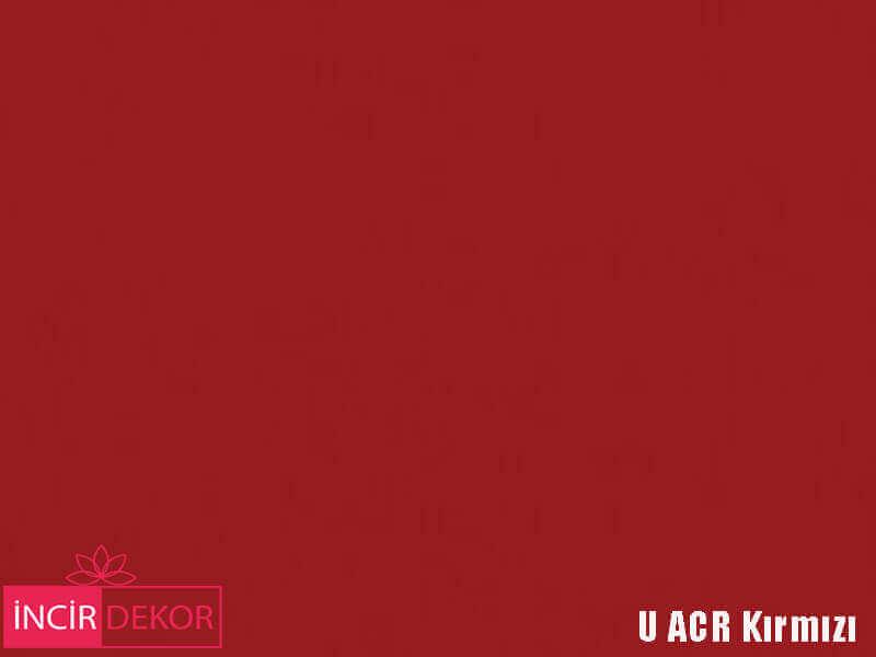 Akrilik Mutfak Dolabı Rengi - Yıldız Entegre Ultra U ACR Kırmızı