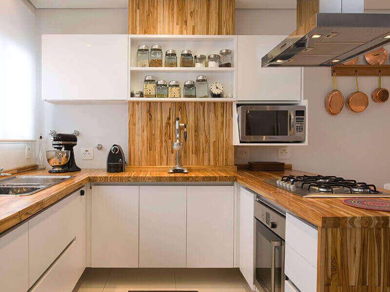 Parlak Akrilik Mutfak Dolabı Modelleri